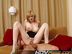 Breasty Tarra White Taking Anal Penetration