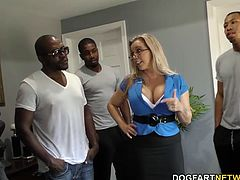 Amber's come over to our crews' house to get the rent. Amber cuts a deal with the crew -- BBC and when Hubby gets home, she'll tell him things are fine...