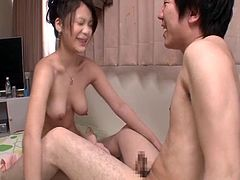 Kana Tsuruta gets into the hottest 69 with her beloved partner