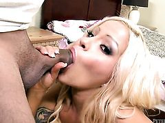 Cami Cole makes her sex fantasies a come true in cumshot action