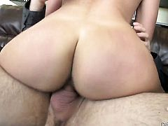 Nikki Daniels lets Tommy Pistol stick his meaty cock in her mouth
