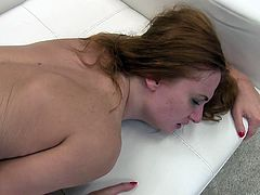 Are slutty redheads on the list of your favorite bitches? Naughty Eva can't wait to get her crazy ass pumped hard. Click to watch the seductive and provocative lady, sucking dick and enjoying the company of Rocco and another horny guy. Have fun and relax.