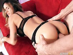 Milf chica Nadia Styles cant resist mans erect pole