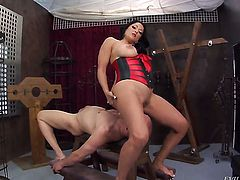Chicana Kiara Mia screams from endless orgasms after getting stuffed good and hard good and hard by