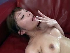 Lean and lusty Japanese body on a girl that loves arousing dicks