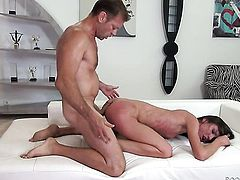 Nataly Gold C is an oral slut who knows what to do with Rocco Siffredis sturdy rod after backdoor se