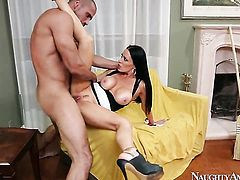 Mature chick makes mans sexual fantasies a reality