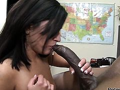 Missy Maze fucking interracially like a pro