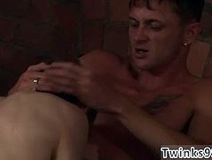 Wanking gay porn xxx full length Poor James Takes An Onslaught Of Cock!