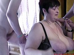 Big Tit BBW Tanja having Family sex