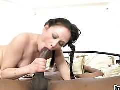 Sindee Jennings takes dudes cum loaded love torpedo in her hot mouth