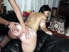 ScambistiMaturi - Italian Couple has hardcore anal sex