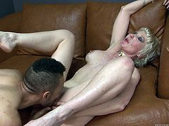 Dalny has had an interest for a while now in trying out a black man, hearing about their big cocks and exceptional fucking skills. She's almost 50 now, but she decided to try one out after her divorce. She was not disappointed.