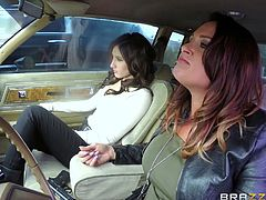 Tory and Addison spotted Vera Drake on the roadside and offered the ride. Pretty busty brunette babe caught their attention, but their thoughts were not so clear. Lesbian milfs wanted not to help her, but to get her in their lesbian threesome. And as you can see, they succeeded. Watch crazy lesbian pussy licking! Hot!
