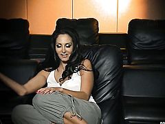 Milf Dani Daniels with round booty had her love hole ploughed a thousand times in interracial sex action but wants some more