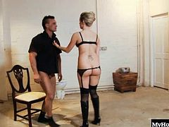 Syren Sexton knew what she was going to do when she woke up this morning. She was bound to fuck, and there was no way around it. She loves wearing her black lingerie and long black boots as she bangs it out with this hot hunk.