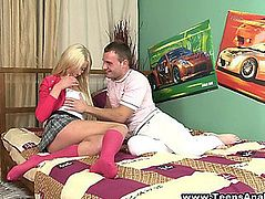 Salacious Russian Blond Groans Erotically During The Time That Getting Her Dark Hole Fucked Hardcore