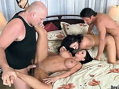 Sex obsessed kitty Roxanne Hall gets satisfaction