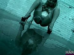 Sluts in kinky latex outfits play naughty games