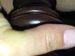 amateur wife fucking a bedpost