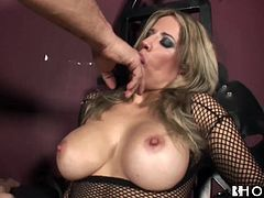 Ana Monte Real is one hot Portuguese slut that likes to have it hard and found satisfaction in Nacho Vidal and his huge cock.