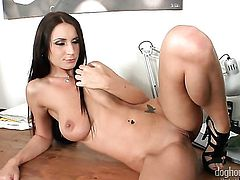 Roxy Taggart screams from endless orgasms after getting used hard and deep hard and deep by horny dude