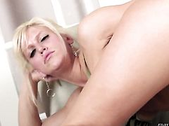 Blonde Kevin Moore wants this hardcore fuck session with hard cocked fuck buddy to last forever