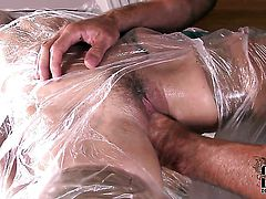Senorita gets covered in cock juice after sex with hot dude