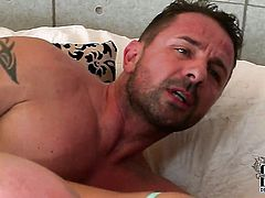 Latin with tiny tities and hairless twat feels good with sturdy dick in her mouth