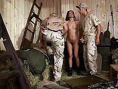 Sophie Lynx with small boobs and trimmed muff has fire in her eyes as she gets dreamed in jizz after sex with horny dude