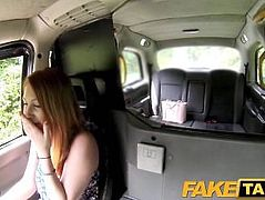 FakeTaxi She pays off her debt balls deep