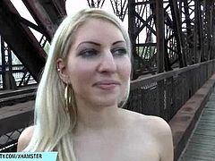 Blonde vanessa naked on public streets