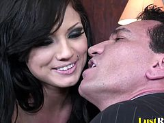 She is a hot beauty who loves to dress provocatively and seduce. After seeing her co-worker, Ava Rose will make sure to thoroughly suck his cock so he can pleasure her back and cover her face.