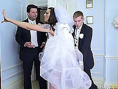 Simony Diamond threatening-fearsome Large Wazoo Wedding Day