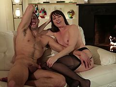 Dana DeArmond before having sex with new partner