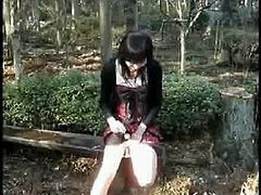 Miss Ayako Compilation of cumshots in public places