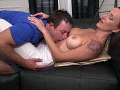mature lady with her passionate lover