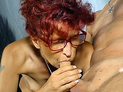 DeutschlandReport - Redhead German slut getting doggy fucked