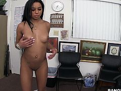 It's easy. She needs a new good role and I, as usual, need sex. We can easily help each other and will get a mutual favour. I like how she smiles, while i touch her pussy. Her butt is so meaty and pleasant to the touch. Watch Aaliyah, sucking my dick and balls. Have fun and enjoy the details of our casting!