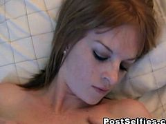 Flawless Blonde Teen Babe Mae caught masturbating her tight wet Pussy on cam She is feeling so horny in her bedroom and started to finger her pussy