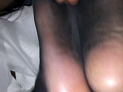 Chinese massage parlor cummy foot fuck for $20