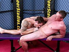 Markie More is an exclusive gay model, whose job is to test fresh meat, willing to become Next Door Buddies. Pierce is one helluva lucky fella, cause he got his cock sucked by experienced Markie. Just imagine getting your dick wet by a professional gay model, who knows how to please cocks!
