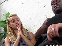 Janet Mason and her daughter Jessie Rogers are not satisfied with their partner's penis size. So time to try something new! They share Big Black Cock...