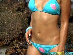 Join Joon Mali and you will have a time of your life! Joon is probably one of the cutest things out there. She is a real Thai cutie with an amazing bubble butt. Don't miss the opportunity to watch her get naked and touch her petite body.