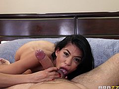 Heather has only had a big dick in her life a few times, and today is one of them. She knows a big one will fill her empty hole up right, and right now that pussy is getting hammered by Kieran's famous phallus.