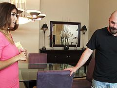 horny latina cheats on her husband with married man
