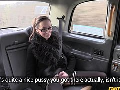 real sex in a fake taxi