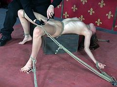 Slutty ex-girlfriend Zoey Laine is punished in the torture room