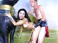 Rina Ellis and her hard dicked bang buddy Danny D are in the mood for fucking
