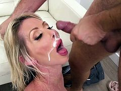 Visit official Brazzers Network's HomepageNaked Tylo Duran ends mind blowing porn play with fantastic facial scenes, all to end her superb hardcore fuck experience in such strong modes